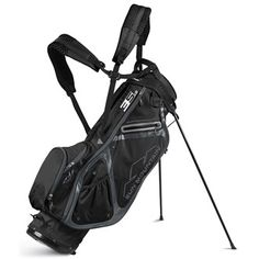 Sun Mountain Three5 LS Stand Bag 2017 Features 23cm 4-way top with an  integrated lift-assist handle 4 Full length dividers E-Z Fit dual strap  system 5 ...