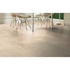 Travertin White Tile-Effect Laminate Flooring: doorandfloorstore.co.uk