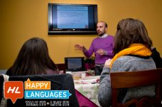 Italian teacher workshop.