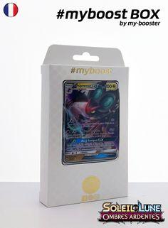 Coffret #myboost BRUYVERNE GX Contient 10 cartes Pokemon francaises Soleil et Lune 3 neuves dont : - la carte BRUYVERNE GX 99/147 200PV de la serie Soleil&Lune 3 - 1 carte Holographique ou Reverse - 1 carte 100PV - 1 carte 90PV - 1 carte 80PV my-booster, l offre POKEMON PREMIUM
