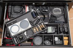 Storing your Camera Gear - Points in Focus Photography