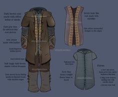 kili costume layers