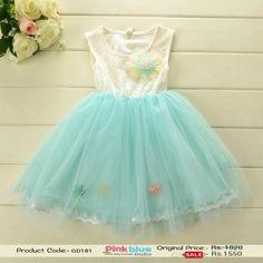 Stunning Designer Sleeveless Wedding Dress for Little Princess, Baby Summer Dresses, Flower Girl Party Dress, Baby Outfits India