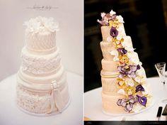 Sugar flowers + Detail: Signature Cakes by Vicki