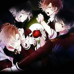 Diabolik Lovers Crap (#1 Fangirl Board for da lols   and the