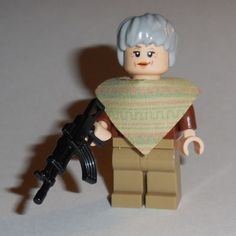 T-V-Lego-The-Walking-Dead-Carol-w-rifle-Custom-NEW-zombie-season-5-5