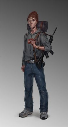 Across the Dead Earth: Reggie by pijus.deviantart.com on @DeviantArt