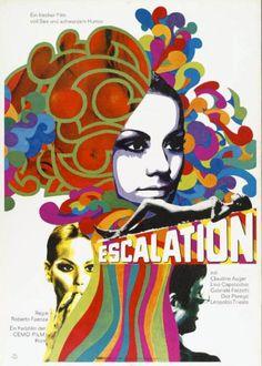 Escalation (Roberto Faenza, 1968) German design