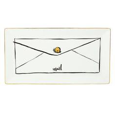 kate spade new york - Daisy Place Snail Mail Tray - NewlyWish