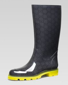 Gucci rain boots!! | Fashion forward kids | Pinterest | Rain boot ...