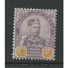 malaya malaysia johore used sg22 sg 22 Listing in the Malayan States,Malaya & Malaysia & S. Setts.,Commonwealth & British Colonial,Stamps Category on eBid United Kingdom | 144617379