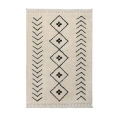 Discover the Lorena Canals Bereber Rhombs Washable Rug at Amara - Washable Rugs - Ideas of Washable Rugs Mobiles En Crochet, Lino Natural, Lorena Canals, Tapis Design, Washable Rugs, Cozy Room, Beige, Herringbone Pattern, Woven Rug