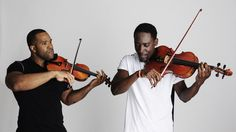 As Black Violin, Kevin Sylvester and Wilner Baptiste say they're merely demonstrating what two music styles with traditionally disparate audiences have in common.