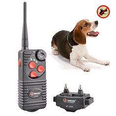 Aetertek At-216s-1 Submersible Dog Trainer 550m (600 Yards ) Remote Control Shock Collar Pet Dog Electric Shock Trainer Control 1 Dog Training No Bark Shock Collar, Rechargeable Dog Bark Collar Receiver -- Find out more at the image link.