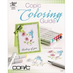 Copic Colouring Guide - Level 1 Basics - 64 coloured pages