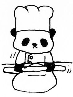 Just a panda making bread. I kinda dig it.