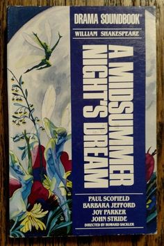 A Midsummer Night's Dream by William Shakespeare (Cassette, Unabridged)