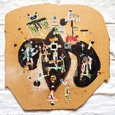 "Saatchi Art Artist Zerox Seventeen; Collage, ""vot kakoe nebo"" #art"