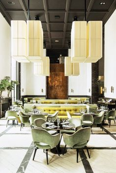 With a brilliantly louche design by architect Joseph Dirand, this hot spot in the Palais de Tokyo is one of the best-looking restaurants to open…