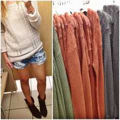 Chunky sweaters by mossimo $24.99 // #targetdoesitagain #isitfallyet #Padgram