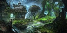Let's Draw Morrowind & Oblivion Concept by Feng Zhu