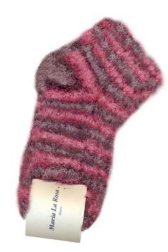 Bussola ankle socks color pink. 84% cotton 16% poly