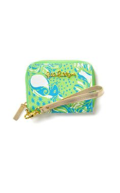 Lilly Pulitzer Charlotte Wristlet Phone Case in Roar of the Jungle