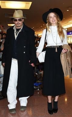 """Johnny Depp """"Can't Wait"""" to Marry Amber Heard This Weekend on His Private Island  Johnny Depp, Amber Heard"""