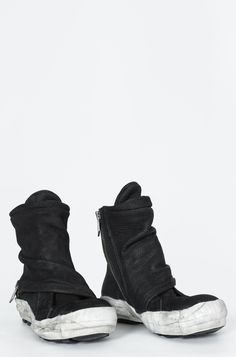 PREACH | Double zip horse leather sneaker