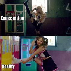 Expectation vs Reality. Hahahah #TWICE