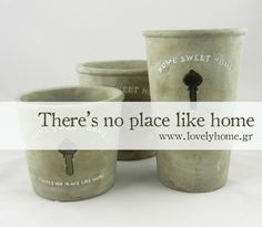 kaspo keramika Sweet Home, Place Card Holders, Mugs, Garden, Tableware, Garten, Dinnerware, House Beautiful, Tumblers