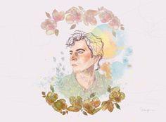 Wilder Adkins - Hope & Sorrow album art. By Malena Flores