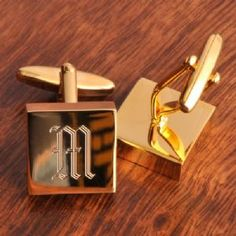 Engraved Addison High Polish Brass Monogrammed Cufflinks for Men is for the well-heeled men who appreciates understated elegance, these impressive brass cufflinks will have him stylin for any special occasion.
