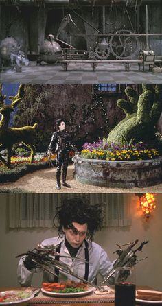 edward scissor hands :D