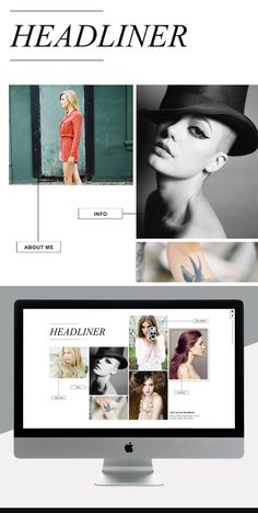 editorial website design http://sitehousedesigns.com