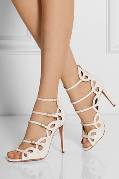 Scalloped strap sandals / AQUAZZURA