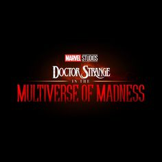 Just announced in Hall H at San Diego Comic-Con, Marvel Studios' Doctor Strange in the Multiverse of Madness Marvel Doctor Strange, Richard Madden, Tessa Thompson, Jeremy Renner, Marvel News, Marvel Fan, Marvel Avengers, Avengers Team, Marvel Logo