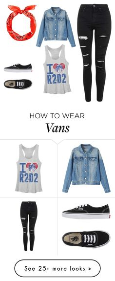 """""""Untitled #1147"""" by kiky-miskovic on Polyvore featuring moda, Topshop y Vans"""