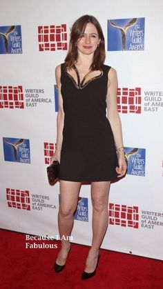 Emily Mortimer Wearing Christopher Kane - The 66th Annual Writers Guild Awards