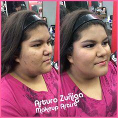 Una muestra mas de la cobertura de camerino makeup sin usar tanto producto el maquillaje cubre perfectamente sin photoshop ni filtros