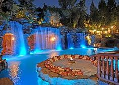 Every person loves deluxe swimming pool layouts, aren't they? Below are some top listing of luxury swimming pool image for your ideas. These dreamy swimming pool design concepts will transform your backyard into an outside oasis. Beautiful Pools, Beautiful Places, Beautiful Dream, Dead Gorgeous, Amazing Places, Pool Water Features, Tropical Pool, Tropical Design, Tropical Decor