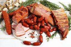 Costita afumata, Kaiser aromatizat, Carnati si sunculita taraneasca, Carnati de bere Carne, Sausage, Meat, Ethnic Recipes, Food, Eten, Sausages, Meals, Diet