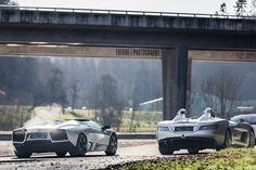 Cận cảnh 2 chiếc Lamborghini và Mercedes hiếm trong ngày chung đôi - Tpauto.com.vn