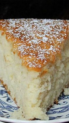 Old Fashioned Sugar Cake – I love how simple this is and would go great with any flavor of ice cream!