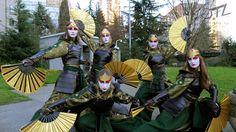 Sakuracon 2013 - Kyoshi Warriors by OTLProductions