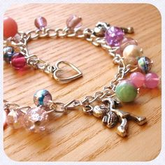 Cupid Charm Bracelet £10.00 #valentines #fashion #jewellery #britcraft #craftlife