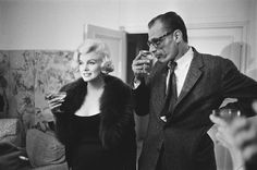 When Marilyn Monroe and Arthur Miller get married in 1956, no one could have ever imagined a more mismatched union. Description from theredlist.com. I searched for this on bing.com/images