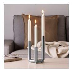 IKEA - IKEA PS 2017, Svietnik/3 sviečky, Svietnik vytvára svojím svetlom príjemnú atmosféru, je však peknou dekoráciou aj sám osebe.
