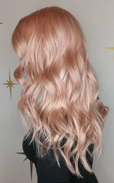 Nacré de Couleur de Cheveux Tendance pour 2018