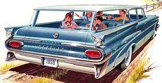 1959 Pontiac Safari Station Wagon